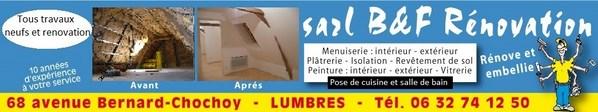 Plaquiste sur Saint Omer